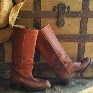 Shoes - Vintage Campus Leather Boots